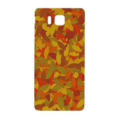 Orange Autumn Samsung Galaxy Alpha Hardshell Back Case by Valentinaart