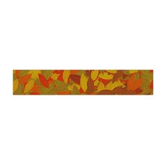 Orange Autumn Flano Scarf (mini) by Valentinaart
