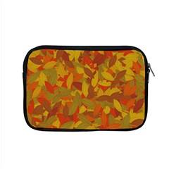 Orange Autumn Apple Macbook Pro 15  Zipper Case by Valentinaart