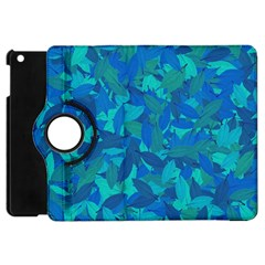 Blue Autumn Apple Ipad Mini Flip 360 Case by Valentinaart