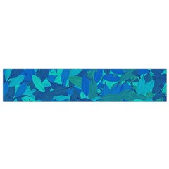 Blue Autumn Flano Scarf (small) by Valentinaart