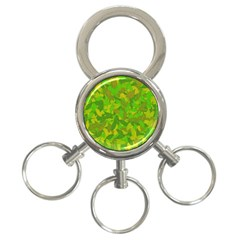 Green Autumn 3 Ring Key Chains by Valentinaart