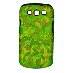 Green Autumn Samsung Galaxy S Iii Classic Hardshell Case (pc+silicone) by Valentinaart