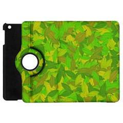 Green Autumn Apple Ipad Mini Flip 360 Case by Valentinaart