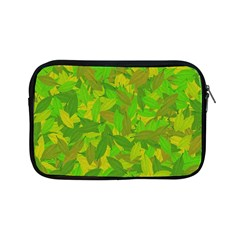 Green Autumn Apple Ipad Mini Zipper Cases by Valentinaart