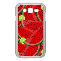 Watermelon Slices Samsung Galaxy Grand Duos I9082 Case (white) by Valentinaart