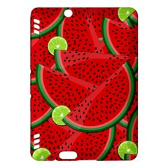 Watermelon Slices Kindle Fire Hdx Hardshell Case by Valentinaart