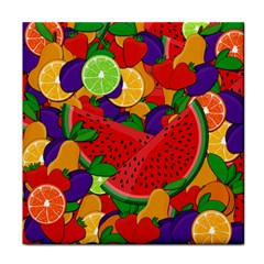 Summer fruits Tile Coasters by Valentinaart