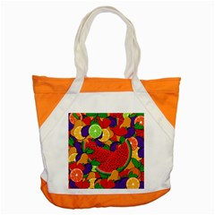 Summer Fruits Accent Tote Bag by Valentinaart