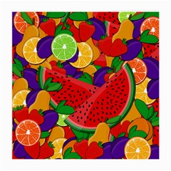 Summer Fruits Medium Glasses Cloth (2 Side) by Valentinaart