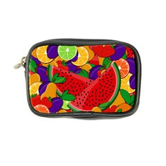 Summer Fruits Coin Purse by Valentinaart