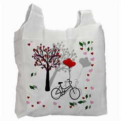 Love Design Recycle Bag (one Side) by Valentinaart