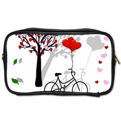 Love Design Toiletries Bags by Valentinaart