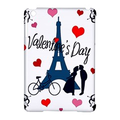 Valentine s Day   Paris Apple Ipad Mini Hardshell Case (compatible With Smart Cover) by Valentinaart