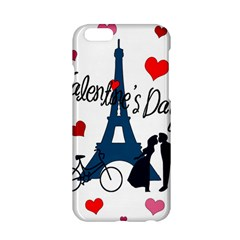 Valentine s Day   Paris Apple Iphone 6/6s Hardshell Case by Valentinaart