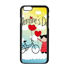 Daydream  Apple Iphone 6/6s Black Enamel Case by Valentinaart