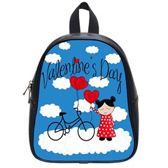 Girls Daydream School Bags (small)  by Valentinaart
