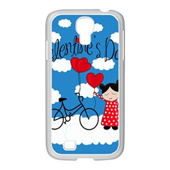 Girls Daydream Samsung Galaxy S4 I9500/ I9505 Case (white) by Valentinaart