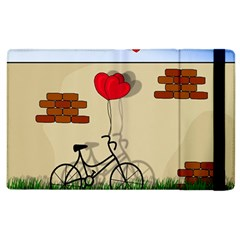 Secret Love Apple Ipad 3/4 Flip Case by Valentinaart