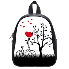 Love Hill School Bags (small)  by Valentinaart