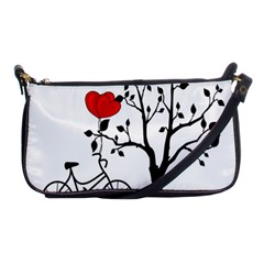 Love Hill Shoulder Clutch Bags by Valentinaart