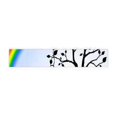 Love Hill   Rainbow Flano Scarf (mini) by Valentinaart