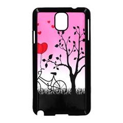 Love Sunrise Samsung Galaxy Note 3 Neo Hardshell Case (black) by Valentinaart
