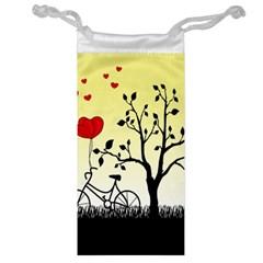 Romantic Sunrise Jewelry Bag by Valentinaart