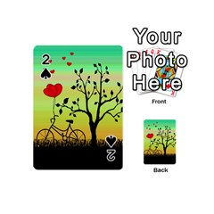 Love Sunrise Playing Cards 54 (mini)  by Valentinaart