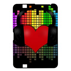 Love Music Kindle Fire Hd 8 9  by Valentinaart