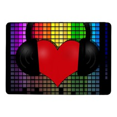Love Music Samsung Galaxy Tab Pro 10 1  Flip Case by Valentinaart