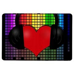 Love Music Ipad Air 2 Flip by Valentinaart