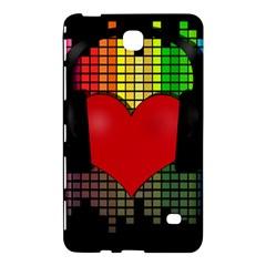 Love Music Samsung Galaxy Tab 4 (8 ) Hardshell Case  by Valentinaart