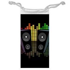 Loudspeakers  Jewelry Bag by Valentinaart