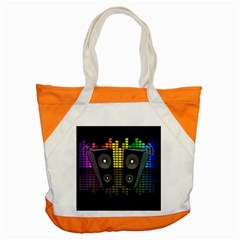 Loudspeakers  Accent Tote Bag by Valentinaart