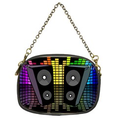 Loudspeakers  Chain Purses (two Sides)  by Valentinaart