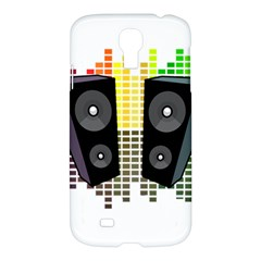 Loudspeakers   Transparent Samsung Galaxy S4 I9500/i9505 Hardshell Case by Valentinaart
