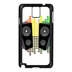 Loudspeakers   Transparent Samsung Galaxy Note 3 N9005 Case (black) by Valentinaart
