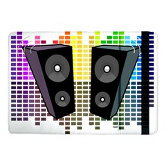 Loudspeakers   Transparent Samsung Galaxy Tab Pro 10 1  Flip Case by Valentinaart