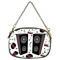 Loud Music Chain Purses (two Sides)  by Valentinaart