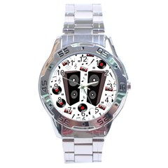 Loud Music Stainless Steel Analogue Watch by Valentinaart
