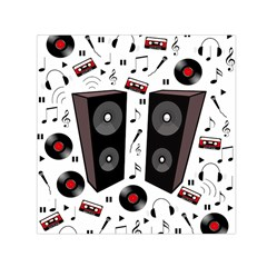 Loud Music Small Satin Scarf (square) by Valentinaart