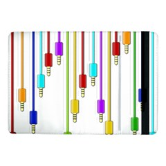 Plug In Samsung Galaxy Tab Pro 10 1  Flip Case by Valentinaart