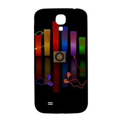 Energy Of The Sound Samsung Galaxy S4 I9500/i9505  Hardshell Back Case by Valentinaart
