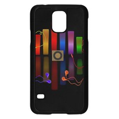 Energy Of The Sound Samsung Galaxy S5 Case (black) by Valentinaart