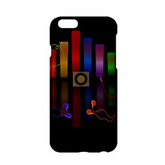 Energy Of The Sound Apple Iphone 6/6s Hardshell Case by Valentinaart