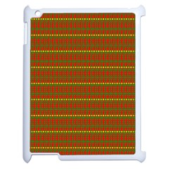 Fugly Christmas Xmas Pattern Apple Ipad 2 Case (white) by Nexatart