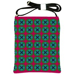 Geometric Patterns Shoulder Sling Bags by Nexatart