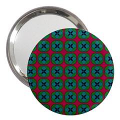 Geometric Patterns 3  Handbag Mirrors by Nexatart