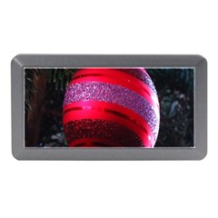 Glass Ball Decorated Beautiful Red Memory Card Reader (mini)